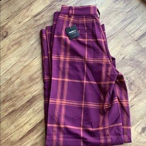 Cute plaid pants